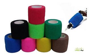 Bandagem Adesiva 05 Cm Para Máquina Tatoo - O Melhor