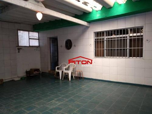 Casa Com 3 Dormitórios À Venda, 160 M² Por R$ 620.000,00 - Penha - São Paulo/sp - Ca0880