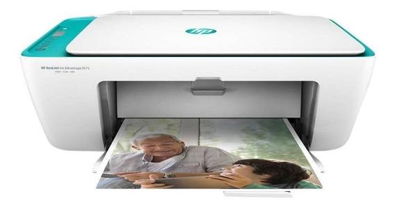Impressora Multifuncional Hp Deskjet Advantage 2676 Wi-fi
