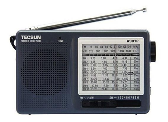 Rádio Receptor Tecsun R-9012 Am/fm/sw 12 Faixas Multibanda
