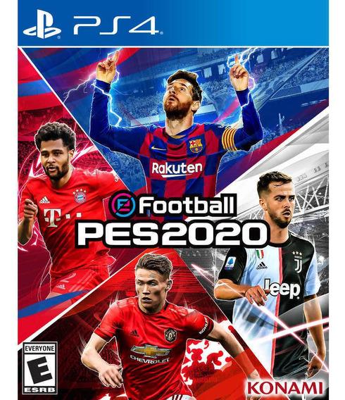 Juego Ps4 Konami Pes 2020