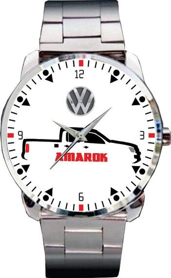 Relógio De Pulso Personalizado Vw Amarok Pick - Cod.vwrp068