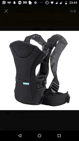 Canguru Infantino Importado Flip Front 2 Black Higienizado