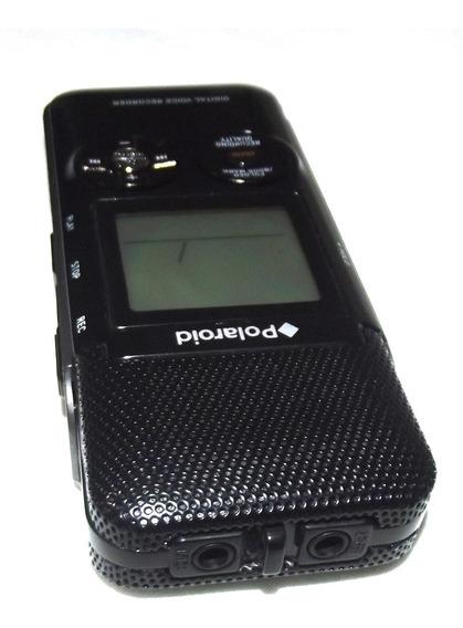 Grabadora Digital Voz Polaroid Pdr300 487mb Memoria Interna