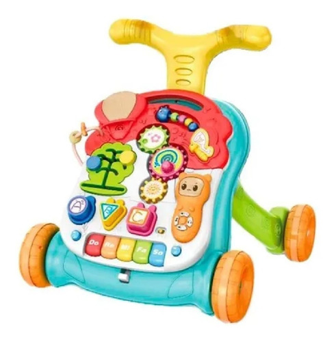 Andador Caminador Mesa Didactica Bebe 3 En 1 Babymovil
