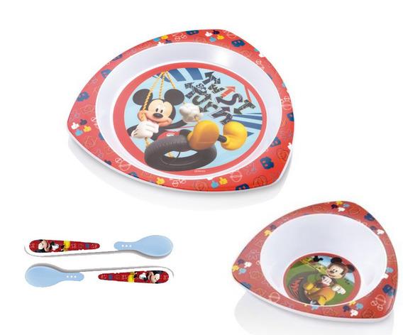 Kit Completo De Alimentação Mickey - Multikids Baby