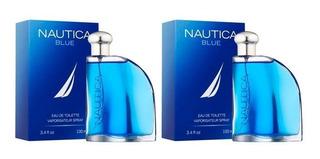 Paquete 2x1 Nautica Blue Para Hombre De Nautica Edt 100ml