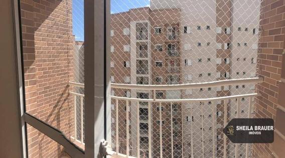 Apartamento Com 2 Dormitórios Para Alugar, 58 M² Por R$ 1.750/mês - Jardim Flor Da Montanha - Guarulhos/sp - Ap0009