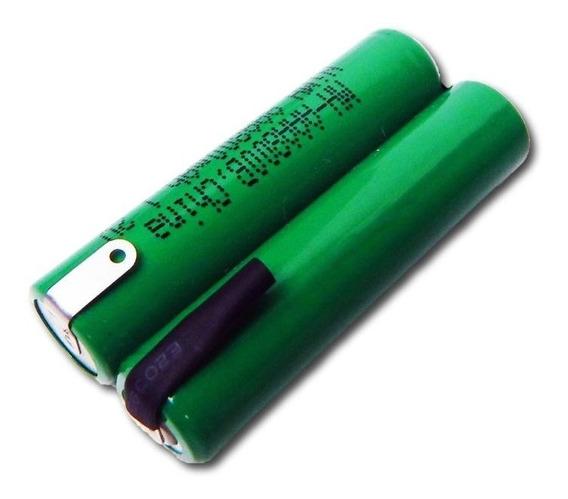 Bateria 2,4v Aaa 1000mah Ni-mh Com Terminal Recarregável