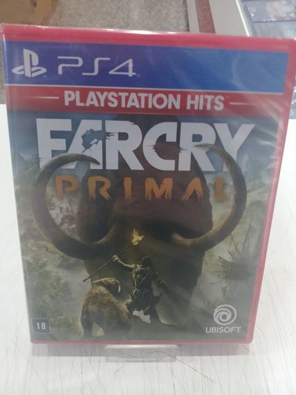 Jogo Far Cry Primal Ps4 Midia Física Novo Português Lacrado
