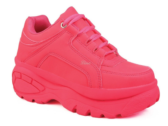 Tênis Feminino Plataforma Sneaker Bf Com Desconto