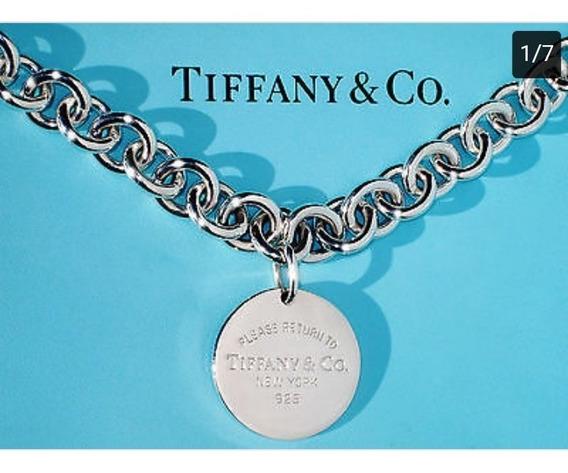 Gargantilla De Eslabones Tiffany &co. Co Original