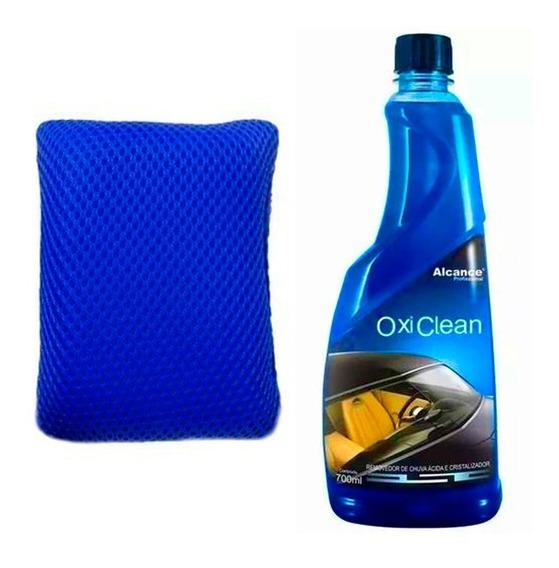 Kit Removedor De Chuva Ácida Oxi Clean Alcance + Aplicador