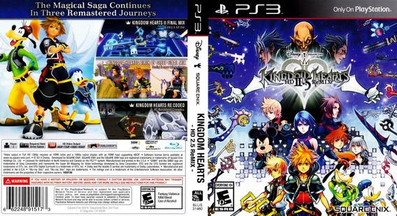 Jogo Kingdom Hearts Hd 2.5 Remix - Ps3 - Mídia Física Usado