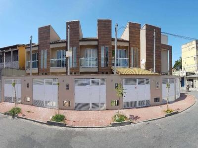 Santa Eugênia/nova Iguaçu. Casas Alto Padrão, Independentes De 2 Quartos E Garagem. - Ca0175 - 32690499