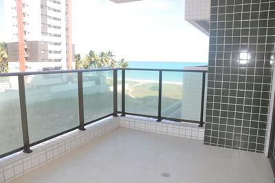 Apartamento 108 M², 3 Quartos, 1 Suíte, Nascente, Guaxuma, Maceió, Al. - 579
