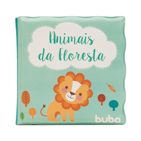Livrinho De Banho Animais Da Floresta - Buba