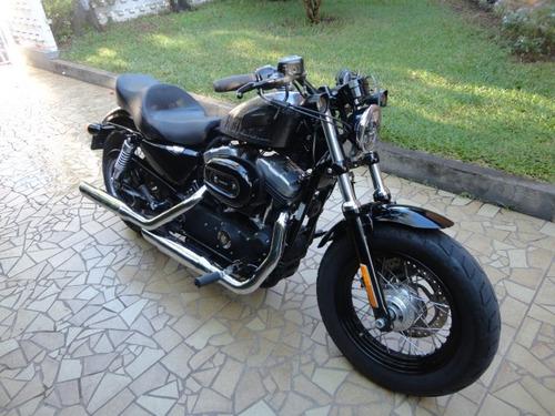 Harley Davidson 2014 Forty-eight 1200 Cc Impecavel Custon !!