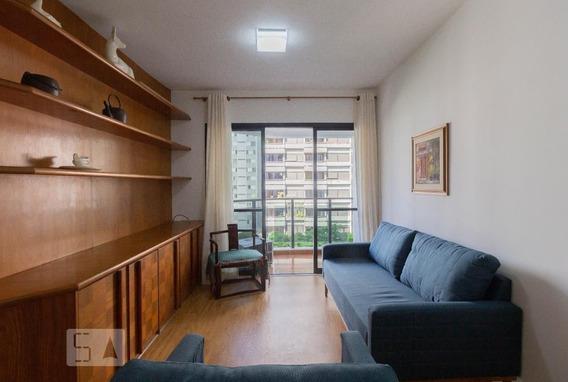 Apartamento No 5º Andar Mobiliado Com 1 Dormitório E 1 Garagem - Id: 892971784 - 271784