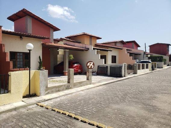 Casa Com 3 Dormitórios Para Alugar, 118 M² Por R$ 1.250/mês - Cambeba - Fortaleza/ce - Ca0159