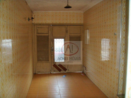 Imagem 1 de 24 de Casa À Venda, 117 M² Por R$ 370.000,00 - Macuco - Santos/sp - Ca1591