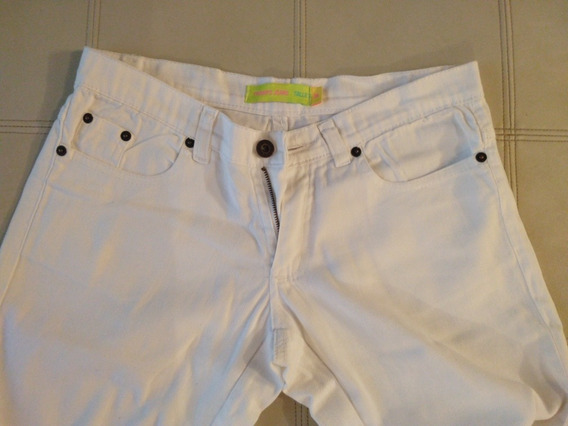 Pantalón Blanco Mujer - Talle 36