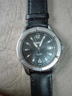 Reloj Okusai Acero Dura Steel Con Calendario. Quarzo.