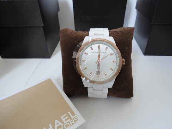 Relógio Michael Kors Mk 5404 Branco Original - Frete Gratis