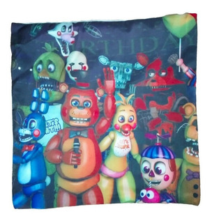 Funda Cojin Almohada Five Night At Freddys 43cm Navidad Amor