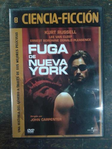 Imagen 1 de 4 de Fuga De Nueva York (1981) * Dvd * Ciencia Ficcion *