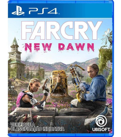 Far Cry New Dawn - Ps4 Midia Fisica Lacrado Português