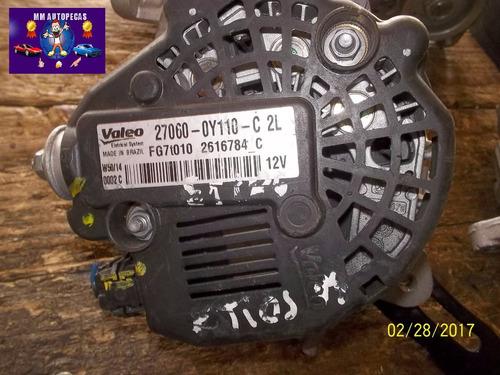 Imagen 1 de 3 de Alternador Usado Original Toyota Etios