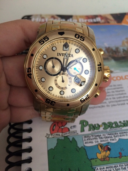 Relógio Invicta 0074 Dourado