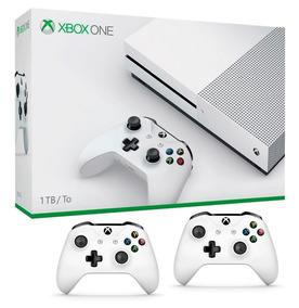 Console Xbox One S 1tb 4k +2 Controles Original Microsoft