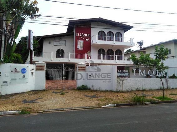 Casa Com 4 Dormitórios Para Alugar, 516 M² Por R$ 8.000,00/mês - Taquaral - Campinas/sp - Ca14277