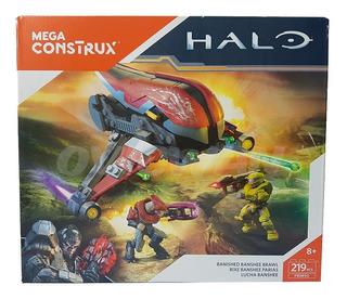 Mega Construx Halo Lucha Banshee 219 Pcs Juego Construcción