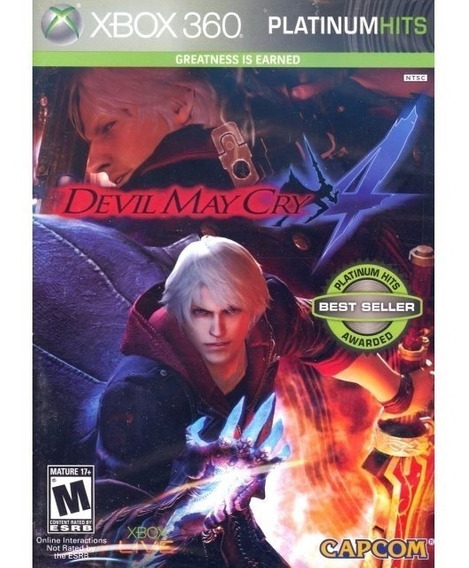 Devil May Cry 4 (mídia Física) - Xbox 360