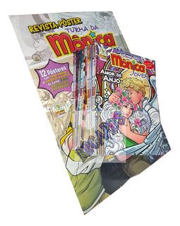 Turma Da Mônica Jovem 10 Volumes + Pôsteres Gigantes