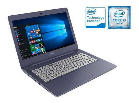 Notebook Vaio Vjc141f11x-b0111l C14 I3-6006u 1tb 4gb / Nfe