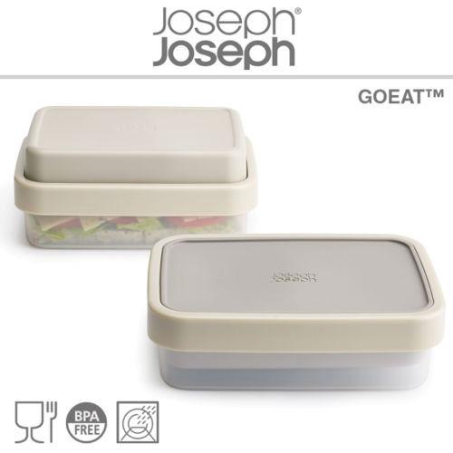 Vianda Con Compartimientos 2 En 1 Gris Joseph Joseph