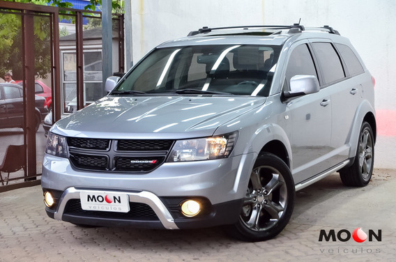 Dodge Journey Crossroad 2015 Cinza 7 Lugares Multimidia