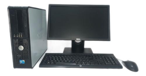 Imagem 1 de 3 de Cpu Monitor Dell Optiplex 760 Core 2 Duo 4gb Hd 160gb