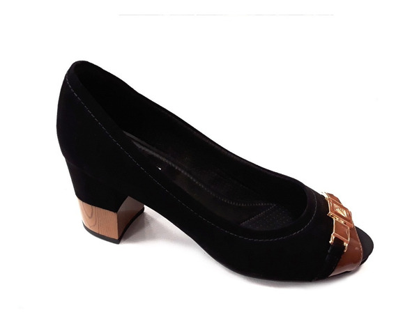 Zapato Mujer Piccadilly Boca De Pescado Tacto 6cm