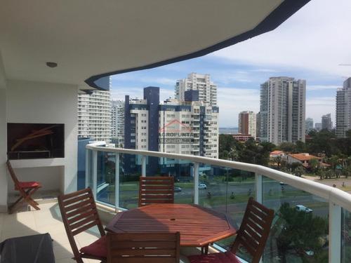 Mansa * Apartamento 3 Dormitorios Con Parrillero- Ref: 5395