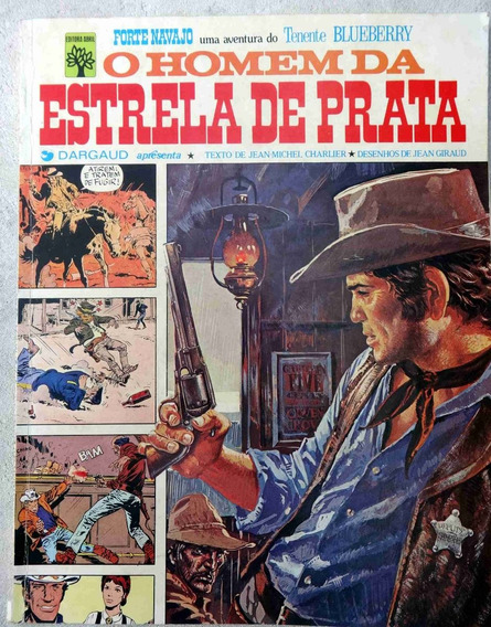 Forte Navajo O Homem Da Estrela De Prata Blueberry - 1976