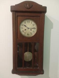 Reloj Antiguo De Pared Casa Escasany