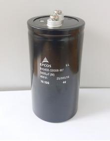 315 - Capacitor Eletrolitico 5600uf 400v -145mm X 75mm Epcos