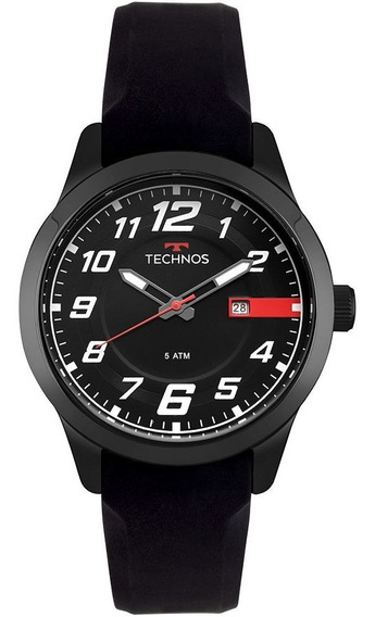 Relógio Technos Performace Racer Masculino Preto