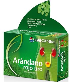 Geonat Arándano Rojo Uro 30 Comp Infecciones Urinarias