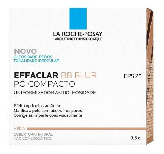 Pó Compacto Effaclar Bb Blur La Roche-posay Cor Média 9,5g
